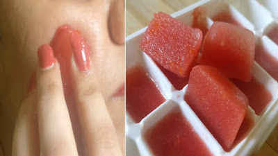 Tomato and cucumber for skin whitening