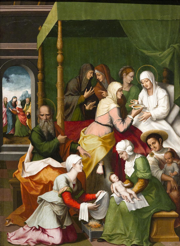 Resultado de imagen para nacimiento de san juan bautista