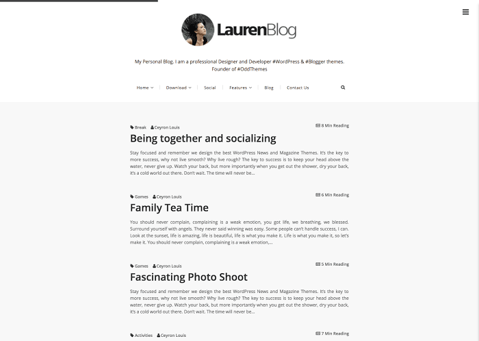 blogger templates gallery
