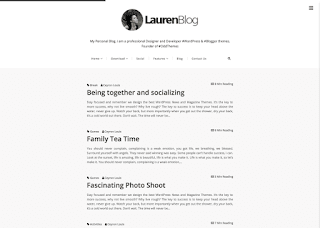Lauren Blog Blogger Template