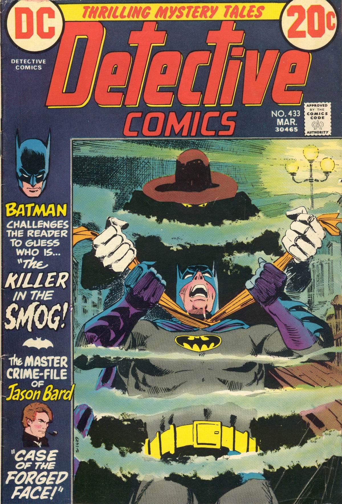 Detective Comics (1937) 433 Page 0