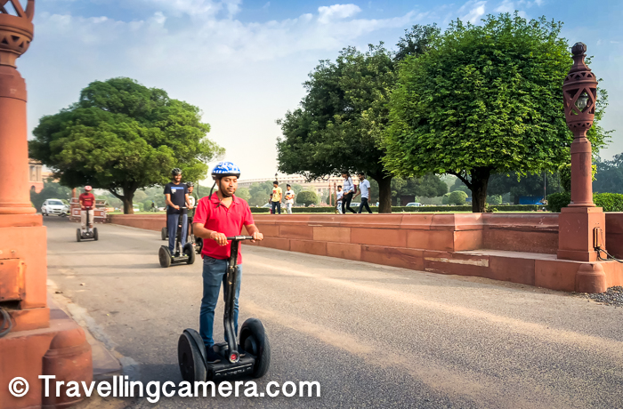 Cost - during the weekdays it costs you 2000 Rs per Segway ($35) and over the weekends the cost of 2500 Rs ($40). If you are a bigger group, certainly you can bargain better. We got the deal at 2200 over the weekend and I believe we could have negotiated more as we went in a group of 15. Since I was early, I saw only 2 people in 6am slot. So it's not like these slots are booked all the time and now I can relate why that's the case.