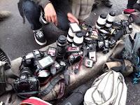 Basecamp Pewarta di Bongkar, Wartawan Boikot Acara Polri dan Presiden Jokowi