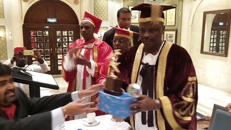 Rabiu Kwankwanso award india