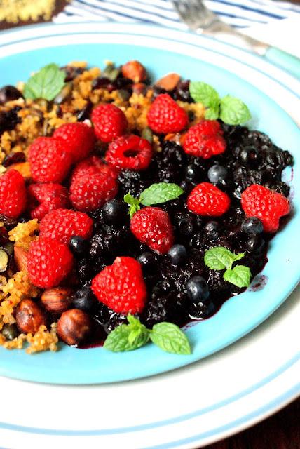 jaglana granola, detoks,kasza jaglana,mus jagodowo jablkowy,dania z kasza jaglana,katarzyna franiszyn luciano,z kuchni do kuchni najlepszy blog kulinarny,co jesc na diecie odchudzajacej,dieta