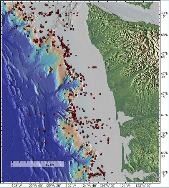 Hundreds of Methane Vents Discovered Off Washington's Coast