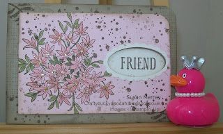 Stampin' Up! Made by Susan Merrey Independent Stampin' Up! Demonstrator, Craftyduckydoodah!, Awesomely Artistic, August 2015