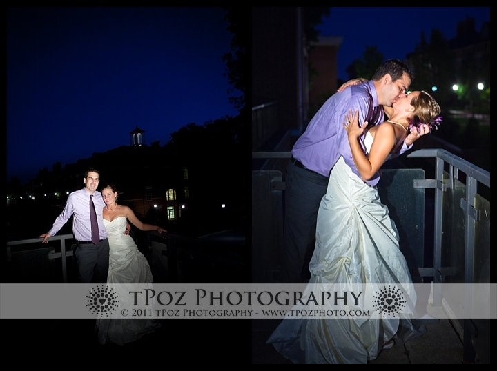 Johns hopkins glass pavilion wedding reception