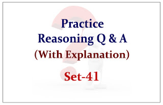 Practice Reasoning Questions (with explanation) for Upcoming IBPS Exams 2015