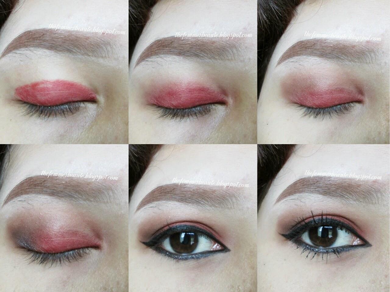 thefemmesbeaute: TUTORIAL : Christmas Inspired Makeup + EOTD