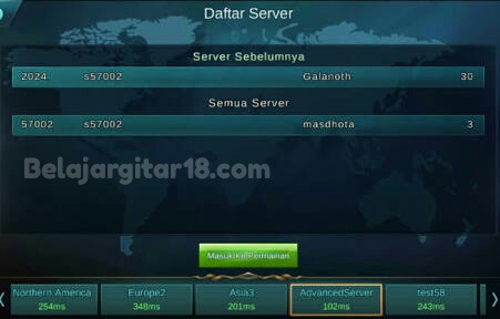 Cara mengembalikan Akun Mobile Legends yang Hilang Karena Pindah ke Server Advence :