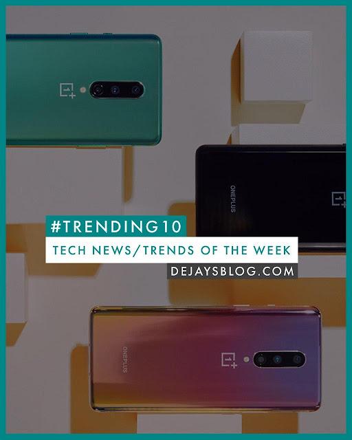 #TRENDING10 - Top 10 Tech News / Trends of the Week #16