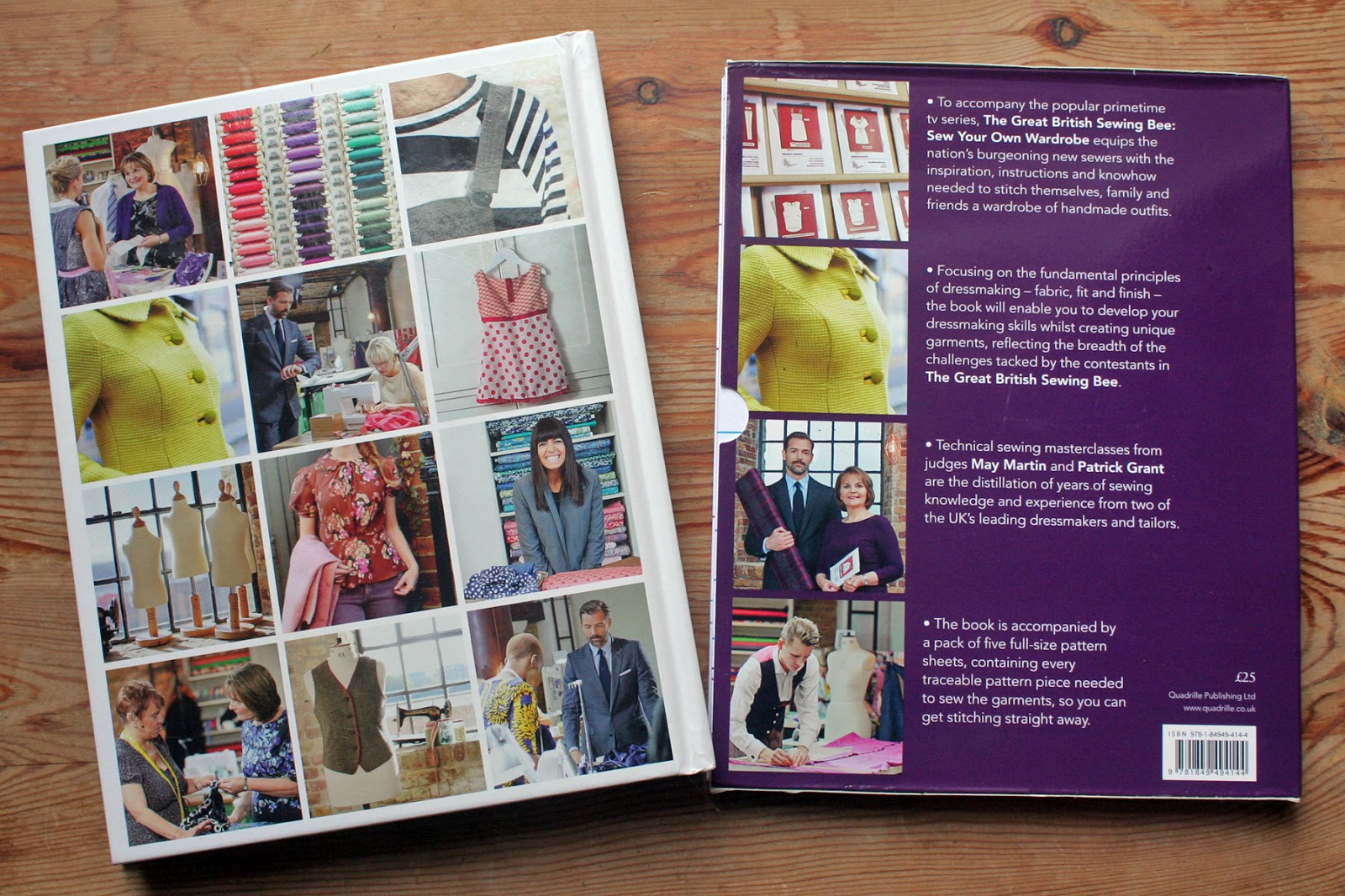 The Butterfly Balcony - Review of The Great British Sewing Bee: Sew Your Own Wardrobe