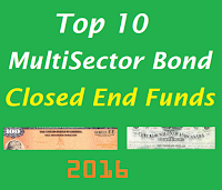 Top 10 MultiSector Bond Closed End Funds for 2016