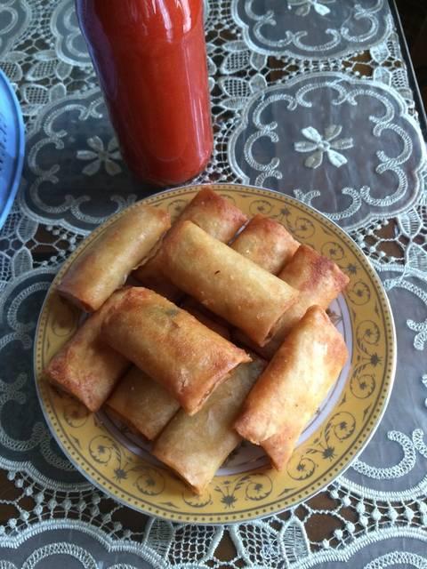 Resep lumpia isi sayur mayur ala rumah makan ciwidey