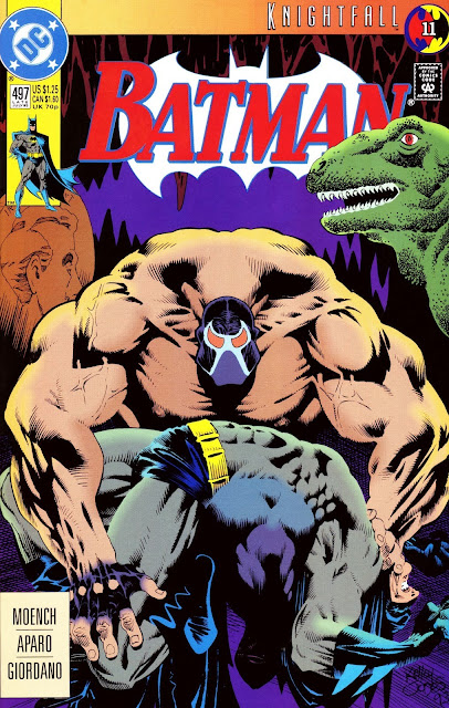 Batman Issue 497 Knightfall The Broken Bat