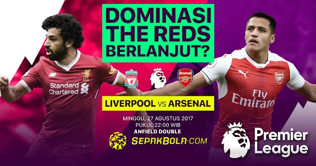 PREDIKSI Liverpool vs Arsenal: Dominasi The Reds Berlanjut?