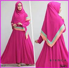 Model Baju Muslim Gamis Syar'i Modern Terbaru