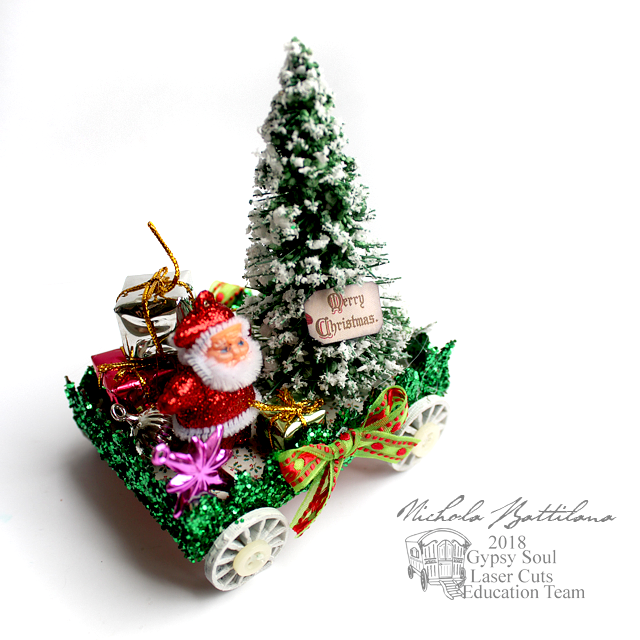 Little Christmas Floats - Nichola Battilana for gslcuts.com