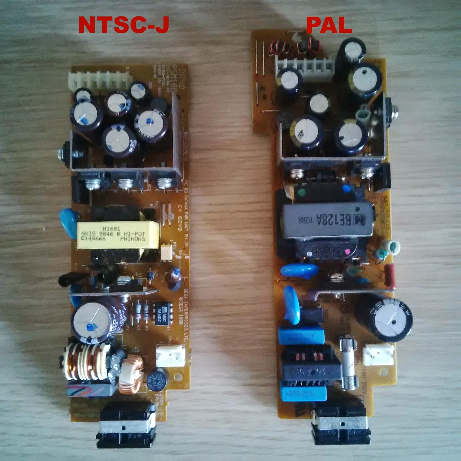 Sega Dreamcast Power Board