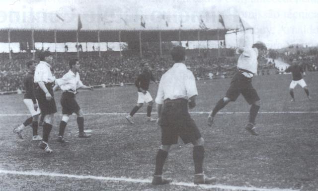 Brasil y Chile en Campeonato Sudamericano de 1917