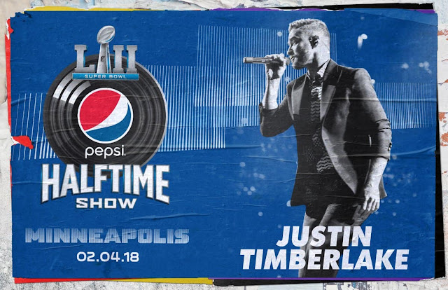 Justin Timberlake Confirmed as 2018 Super Bowl Halftime Show Performer