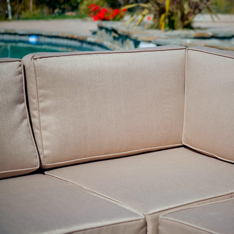 Best Selling Say Brook PE Wicker Sofa Set