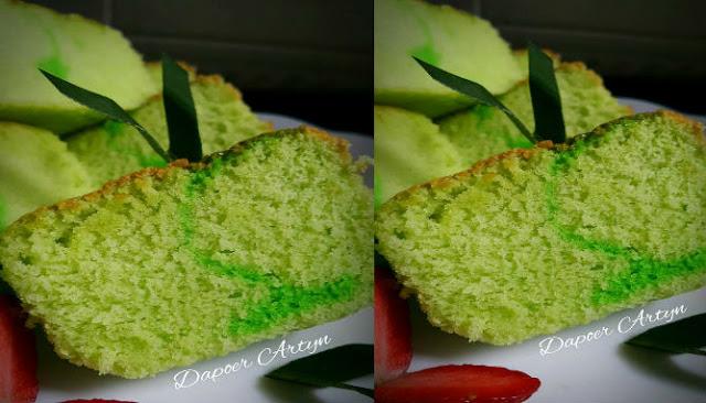 Resep Sponge Cake Pandan Yang Enak dan Lezat