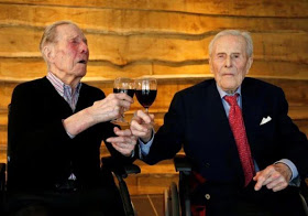 World's oldest living male twins turns 104