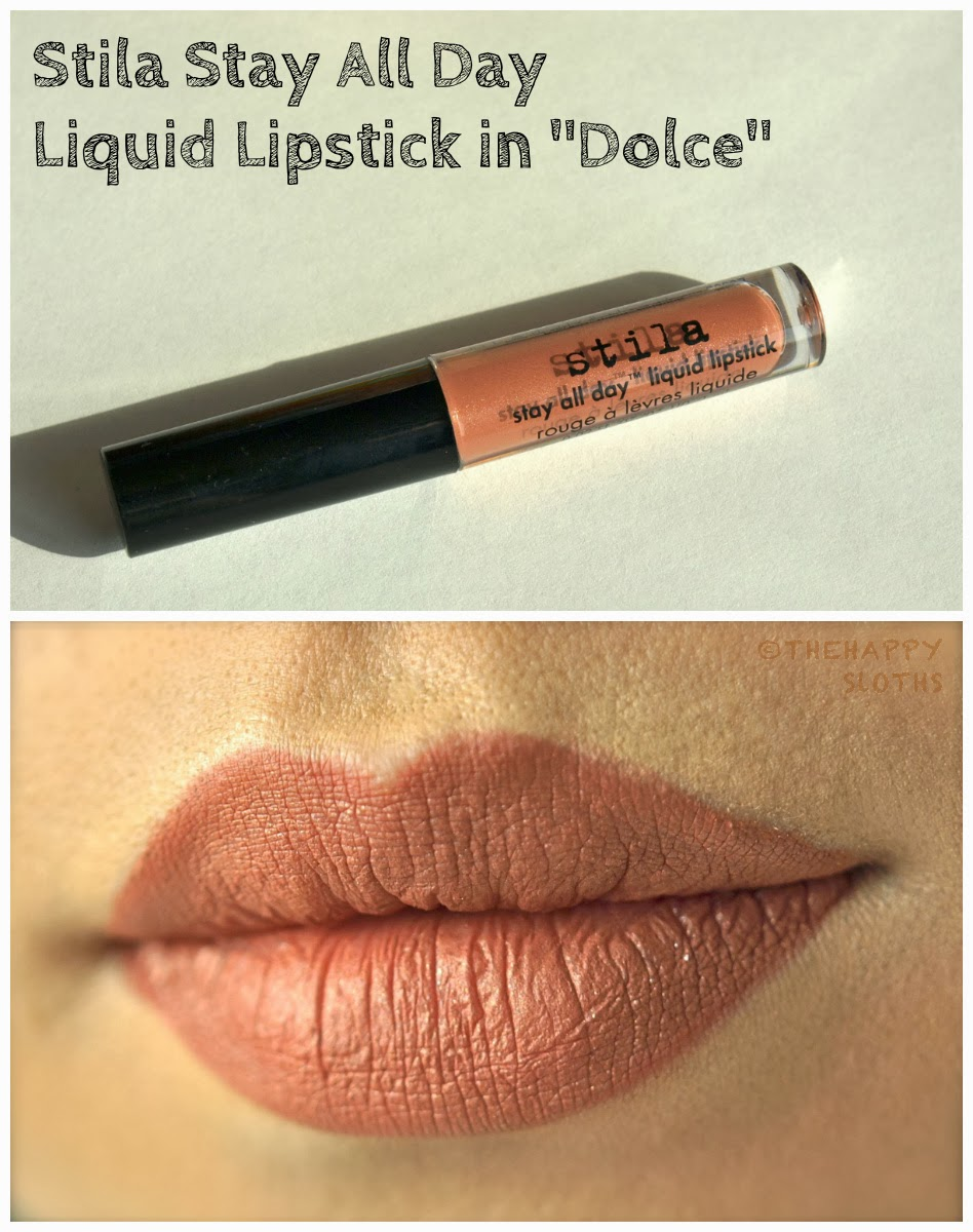 Stila Stay All Day Liquid Lipstick Swatches Bellissima