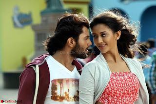 Pooja Jhaveri romancing Vijay Devarakonda in movie Dwaraka (7).jpg