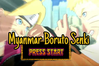 Download Naruto Senki Mod Myanmar Boruto (Unlimited Money)