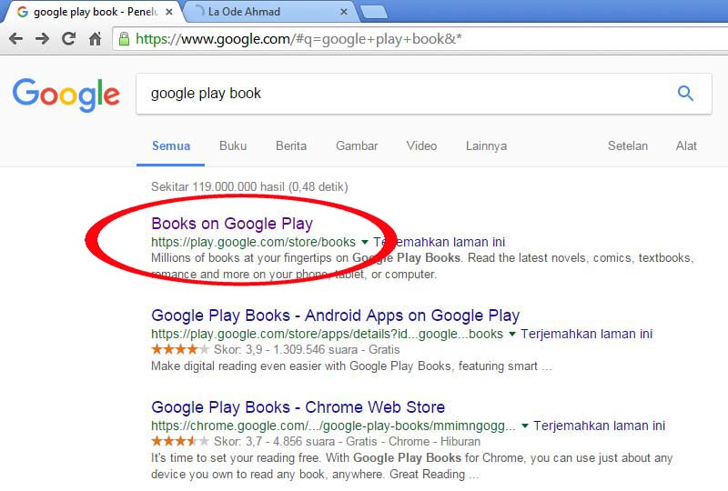 Cara Google Book Tanpa Aplikasi