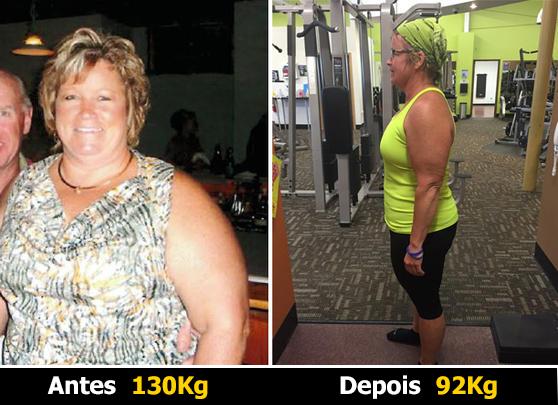Maria Gonzales - 38 kg a menos.
