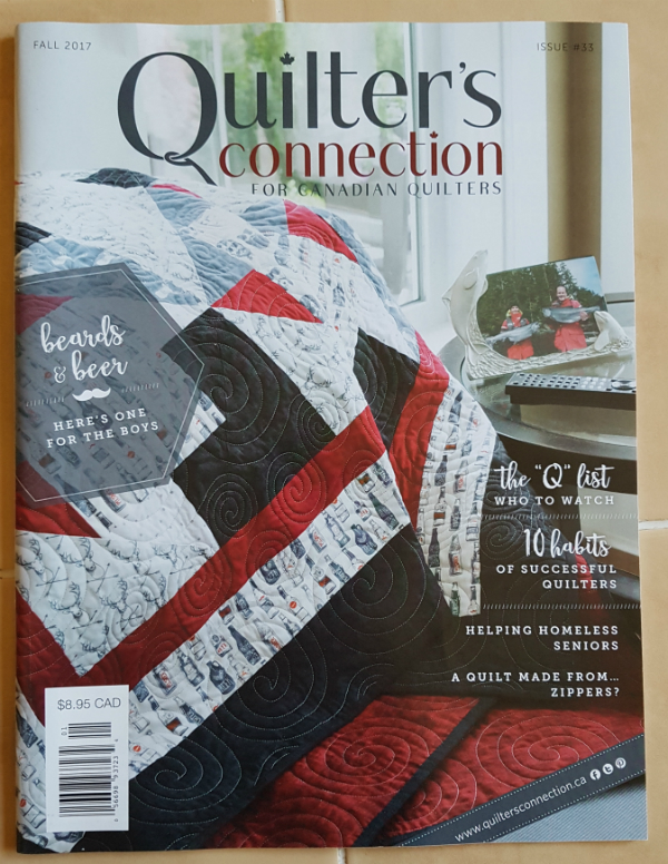 Quilter's Connection magazine | DevotedQuilter.blogspot.com