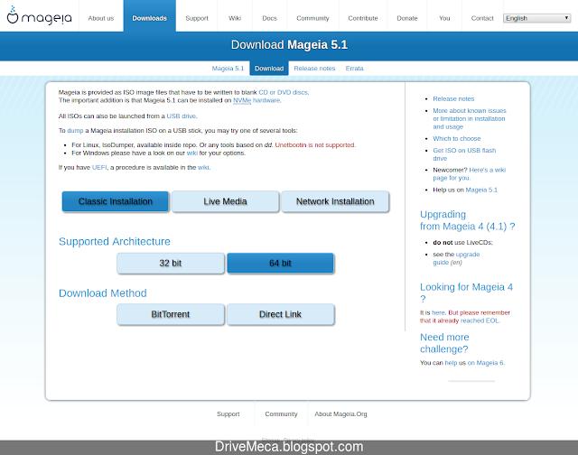 Descarga directa o torrent del ISO de Mageia Linux