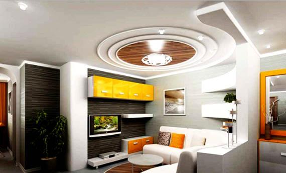 Model Plafon PVC Ruang Tamu
