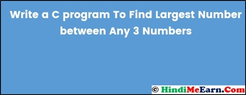 Find Largest Number