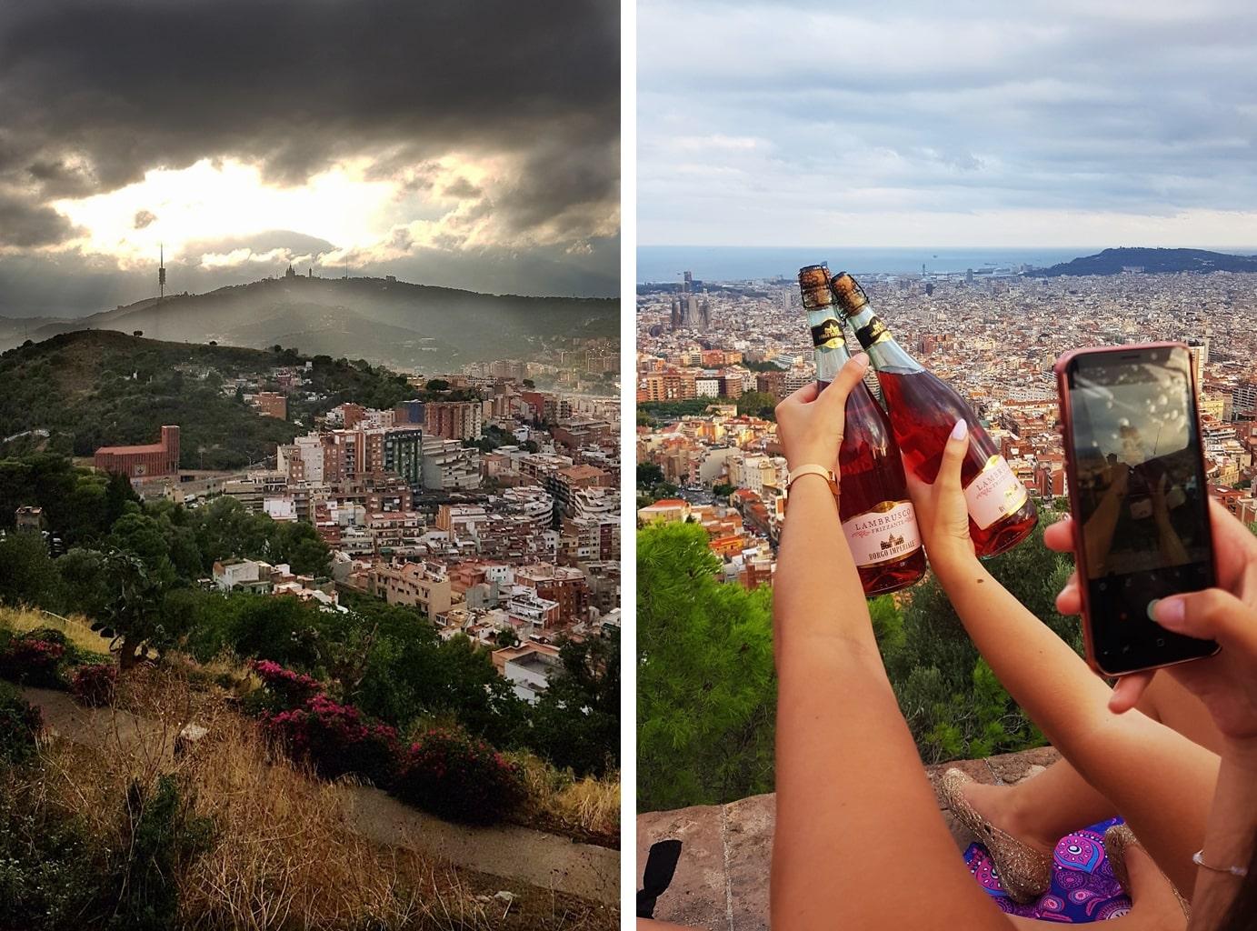 wino w barcelonie