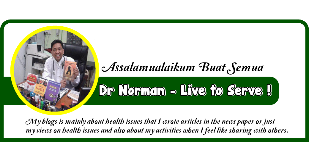 Dr Norman - Live to Serve !