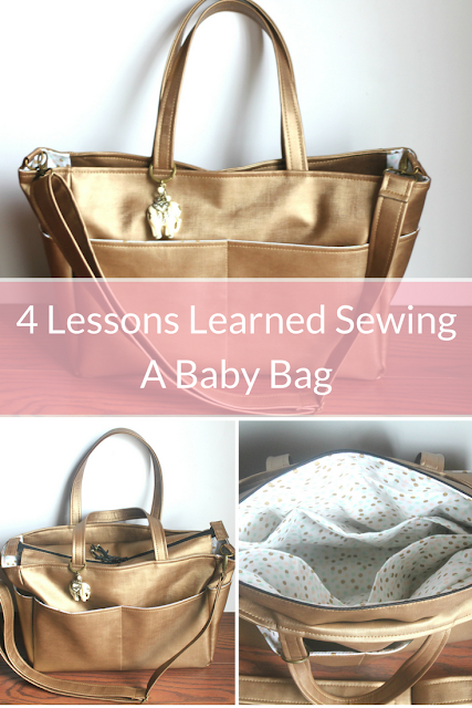 4 Lessons And A DIY Diaper Bag