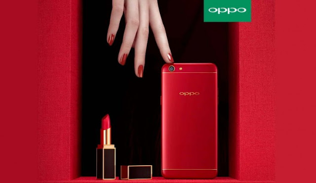 Oppo F3 Red Edition Philippines