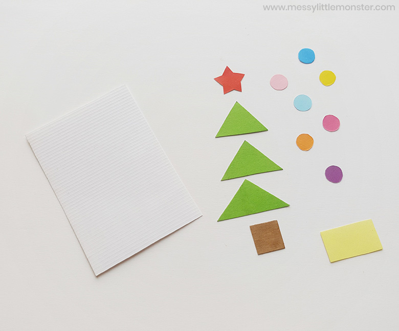 Christmas shape activity