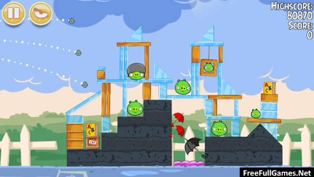 Angry Birds Seasons PC Game Free Download Full Version