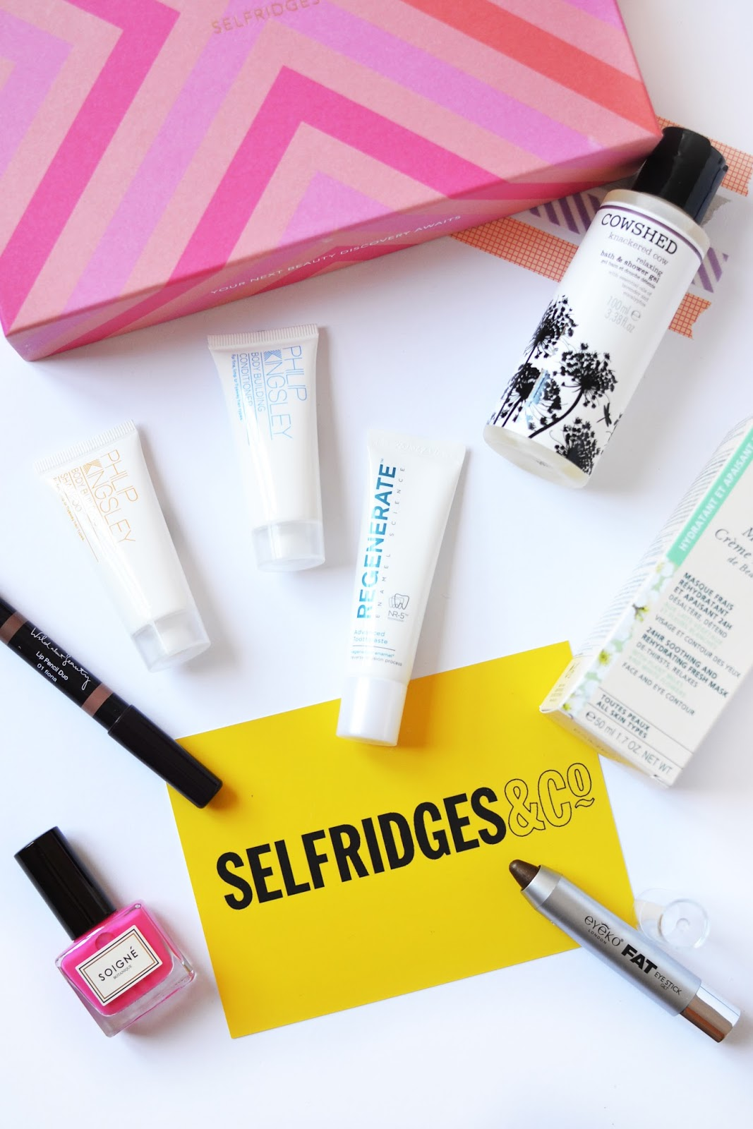 A limited edition birchbox with selfridges