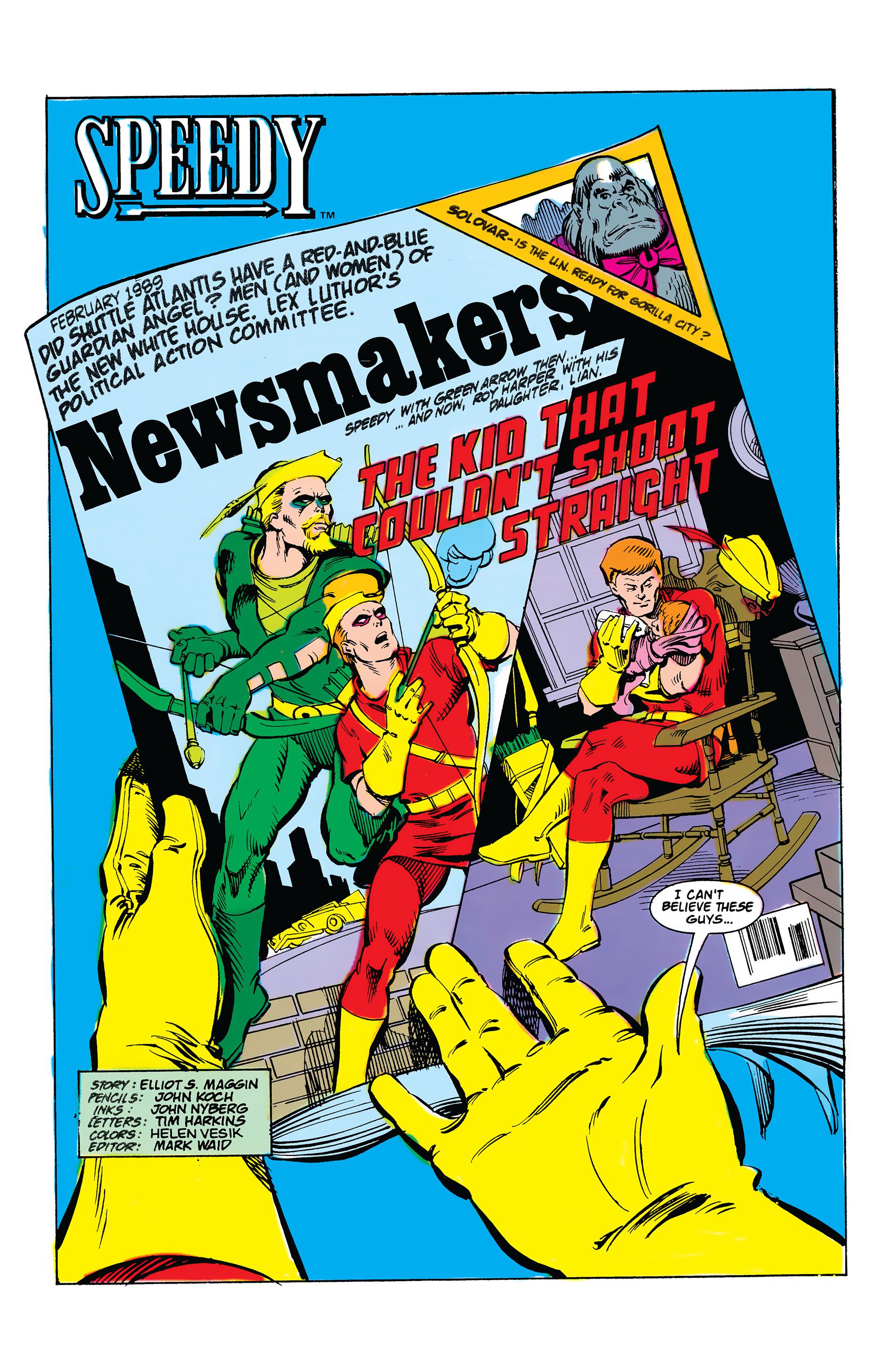 Read online Secret Origins (1986) comic -  Issue #38 - 24