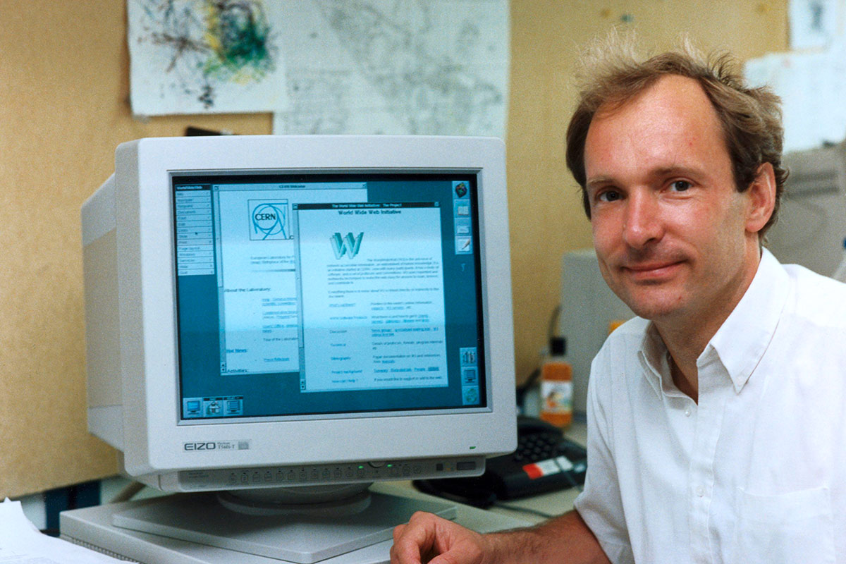 Engramme English Every Day Tim Berners Lee Opens The
