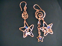"The Nice Lady ""My Stars"" earrings"