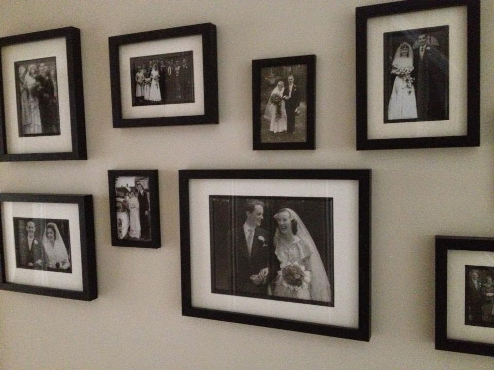 Monday - Family Wedding Gallery Wall - Roses and Rolltops