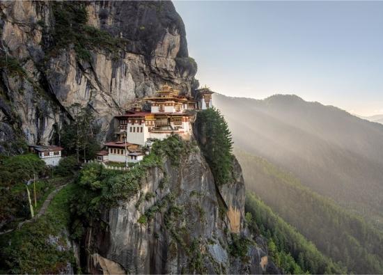 Paro Taktsang manastirea din varful muntelui